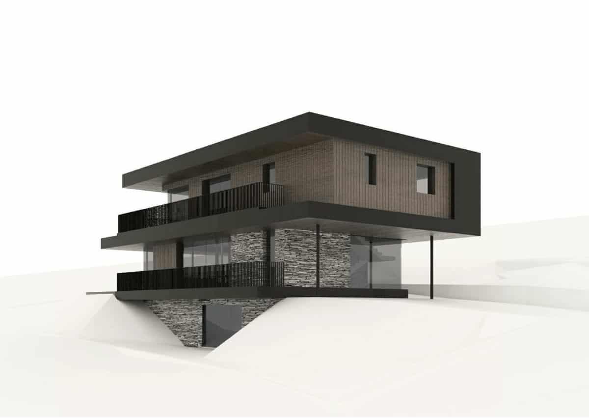Architekt-Ivan-Niedermair-Olang-Süditirol-Villa